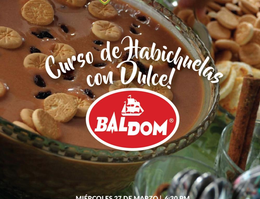 CURSO DE HABICHUELAS CON DULCE
