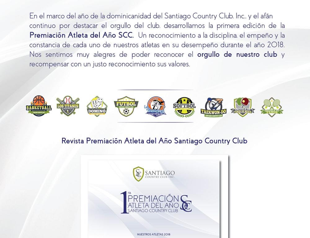 1ra. Premiación Atleta del Año Santiago Country Club