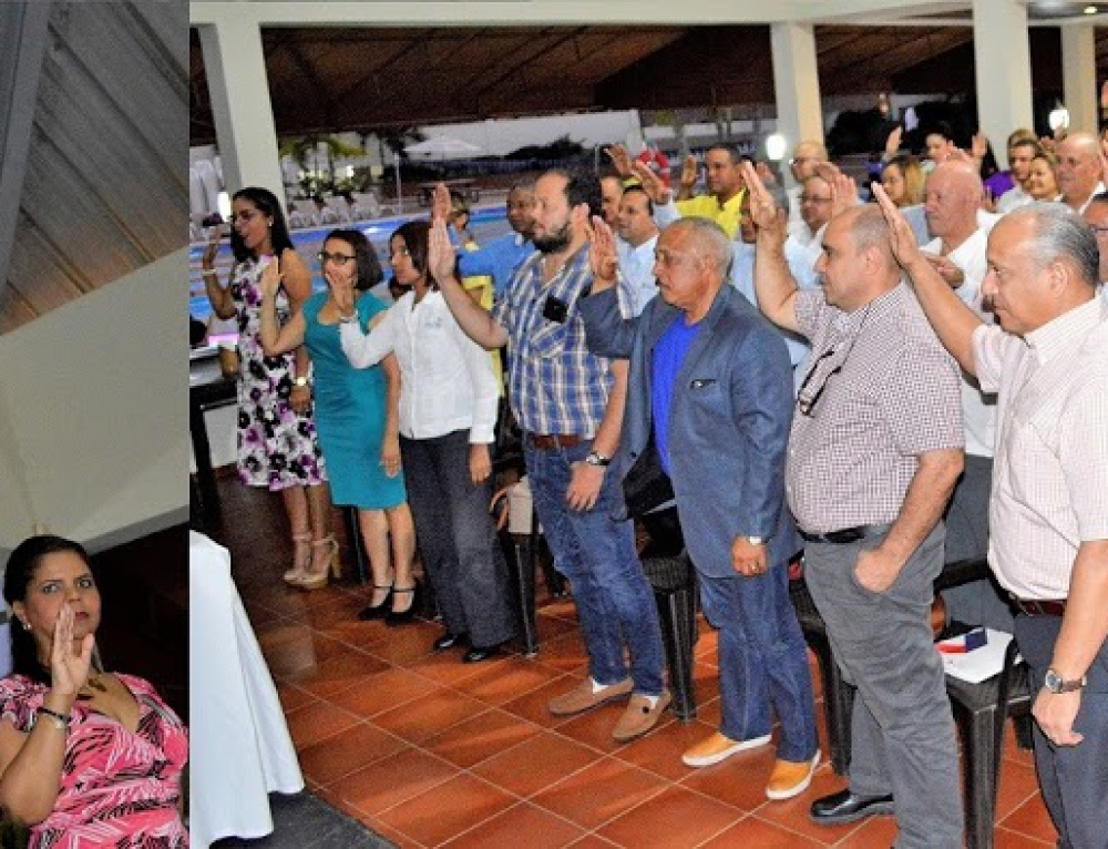 Santiago Country Club juramenta 72 socios en 10 comités deportivos