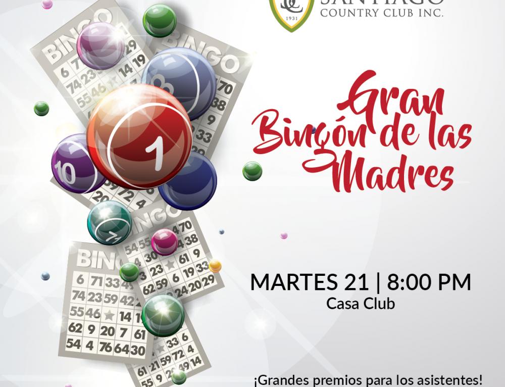 GRAN BINGON DE LAS MADRES