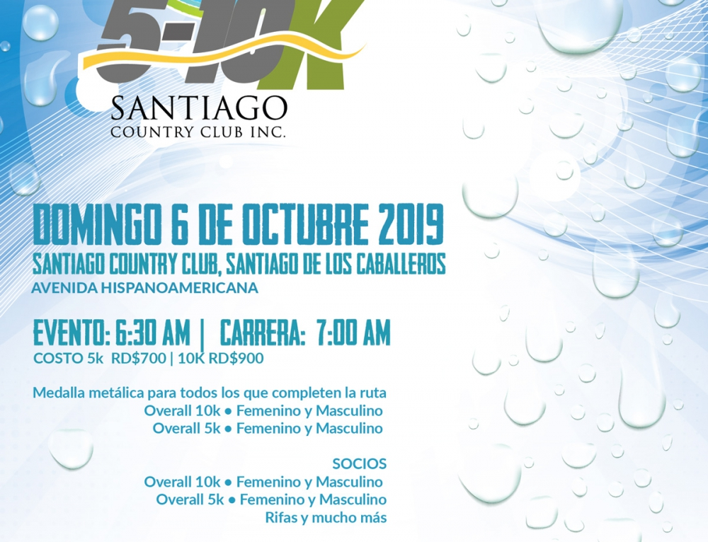 Carrera 5-10K Santiago Country Club