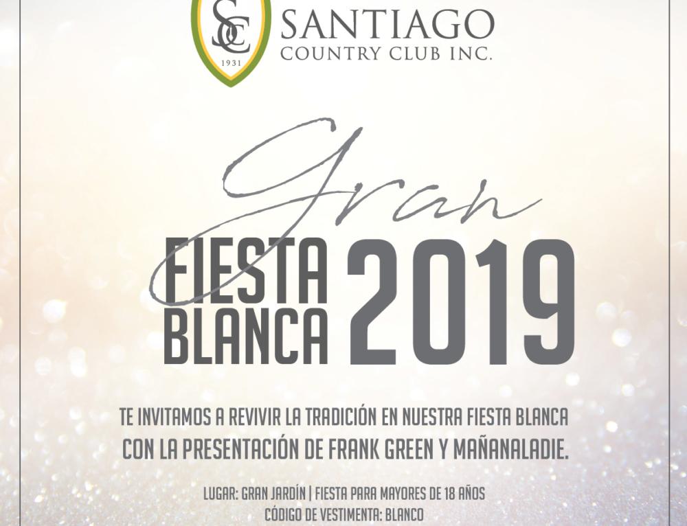Gran Fiesta Blanca 2019