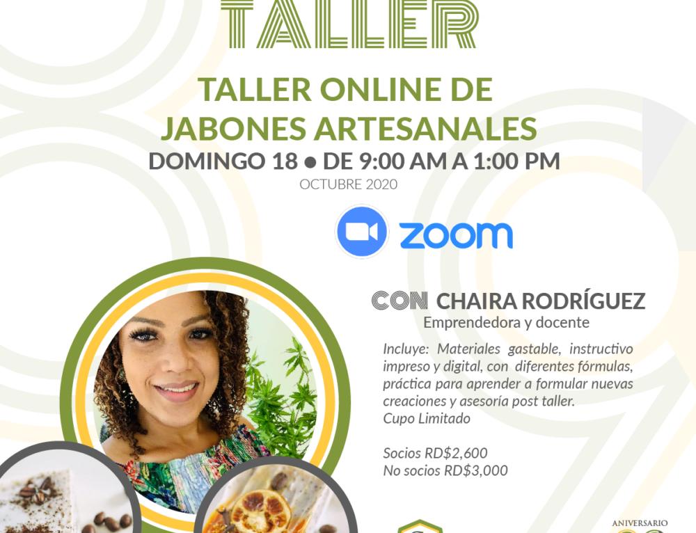 TALLER ONLINE DE JABONES ARTESANALES