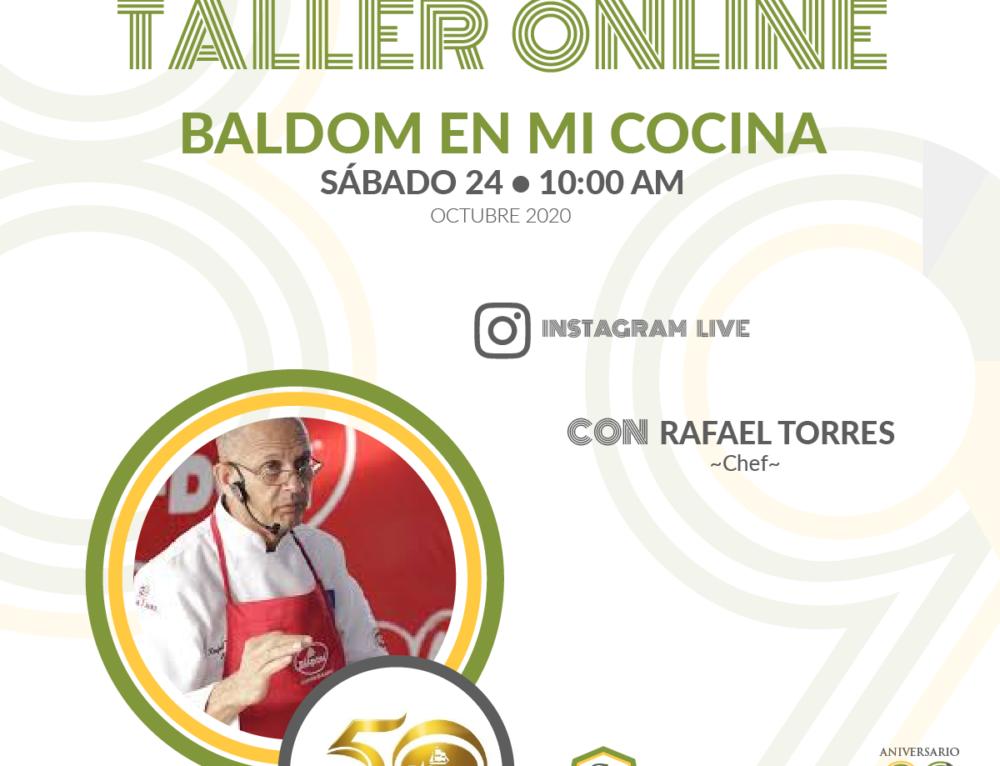 TALLER ONLINE – BALDOM EN MI COCINA